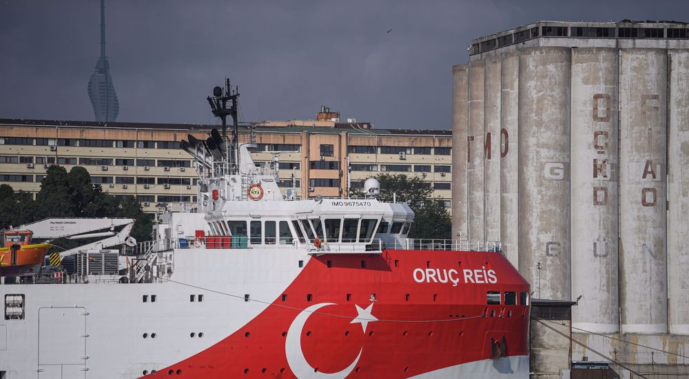 Greece: Turkey ship back in disputed waters threat to regional peace