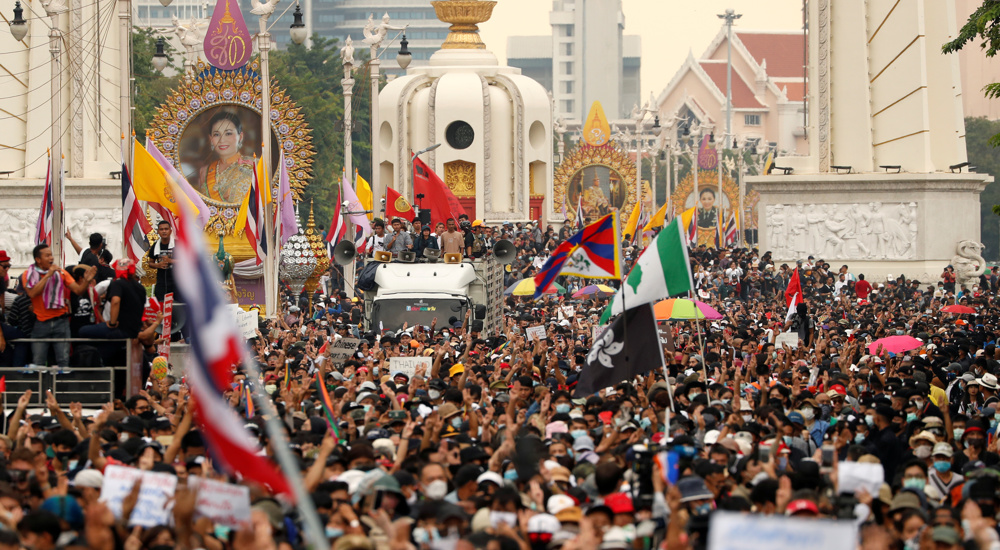 Mass anti-government rally kicks off in Thailand
