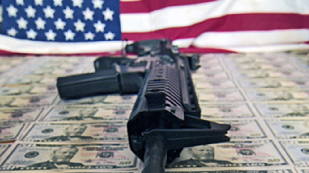 Shares of US gun makers gain as Biden's lead grows