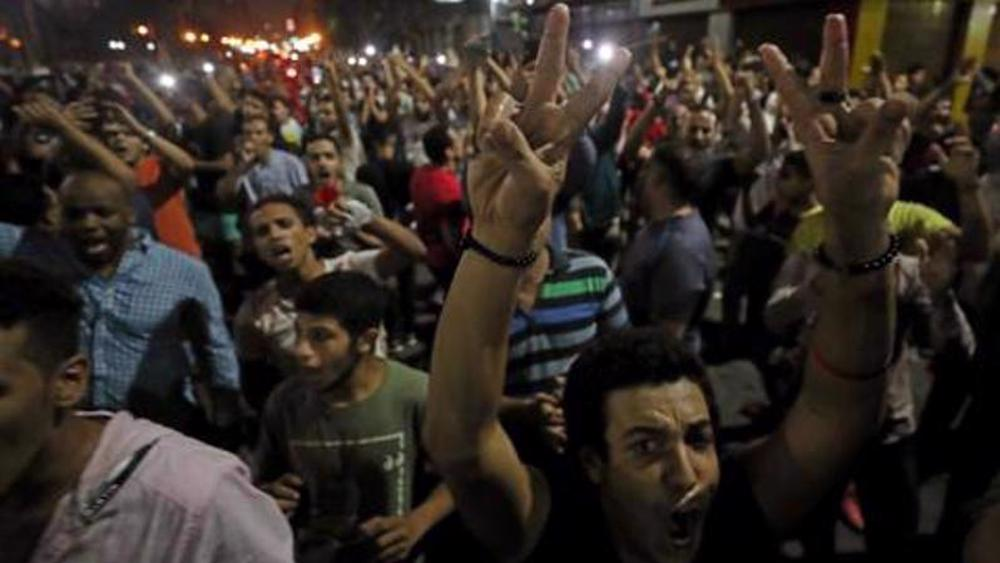 Amnesty urges Egypt to release detained protesters