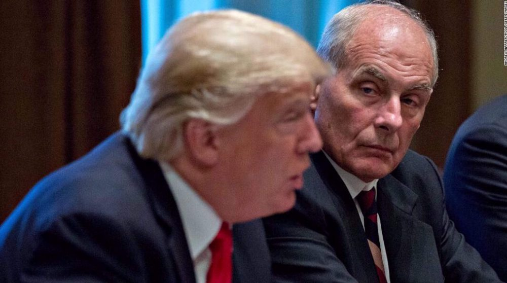'National security crisis': John Kelly on Trump's transition delay