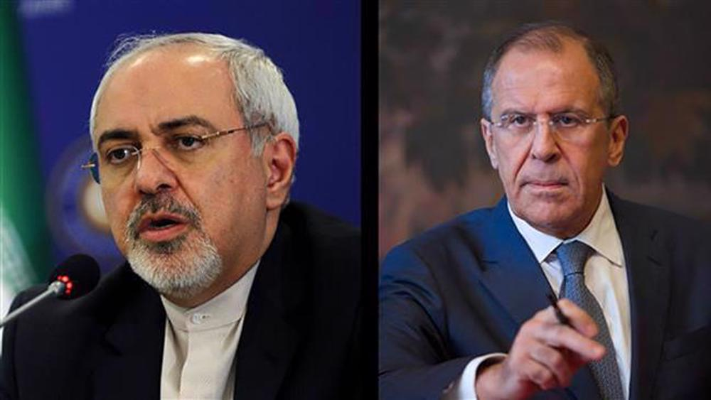 Iran's Zarif, Russia's Lavrov discuss JCPOA, Karabakh conflict by phone