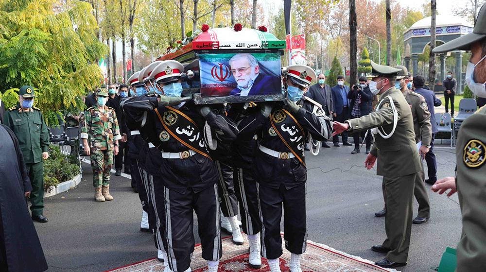 Iran pursues 'definitive punishment' of those behind scientist's assassination
