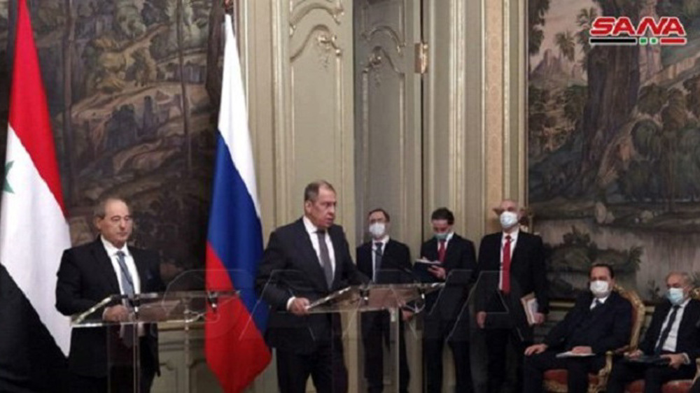 Lavrov: West's sanctions on Syria violate UN resolutions