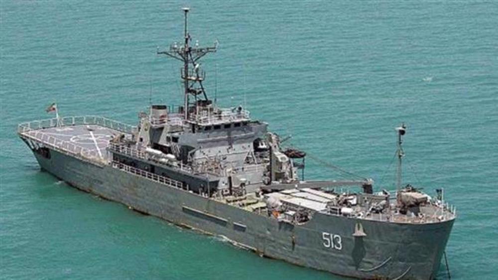 Iranian Navy's 71st flotilla of warships sets sail for high seas