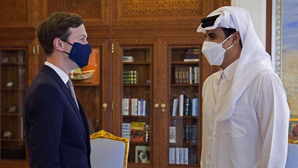 Saudis near agreement with Qatar as welcoming 'gift' to Biden