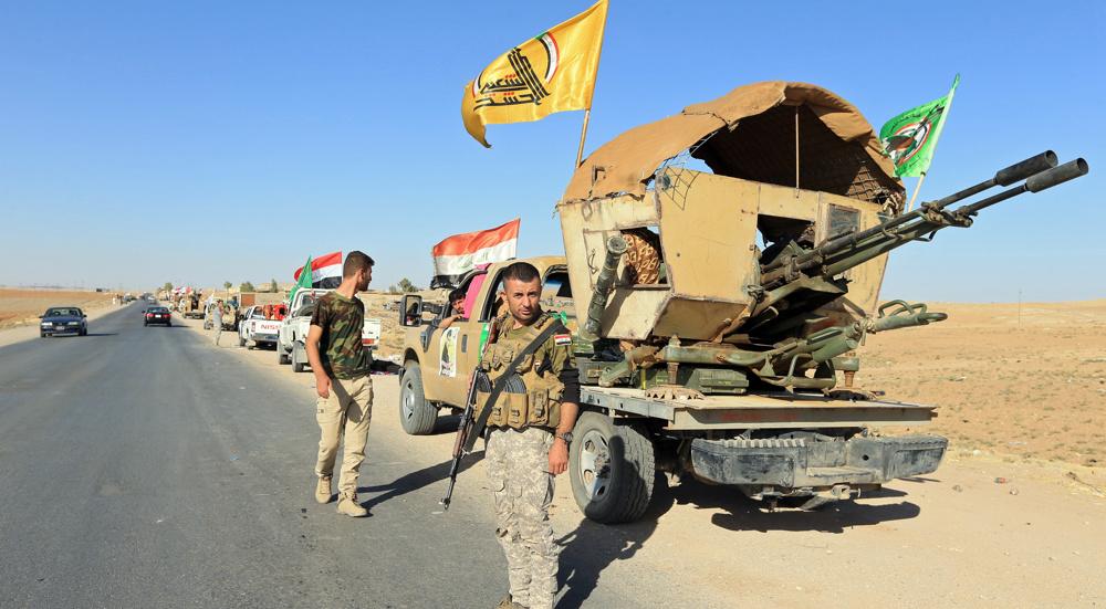 Iraq steps up anti-terror ops amid warnings of 'US-Daesh plot'