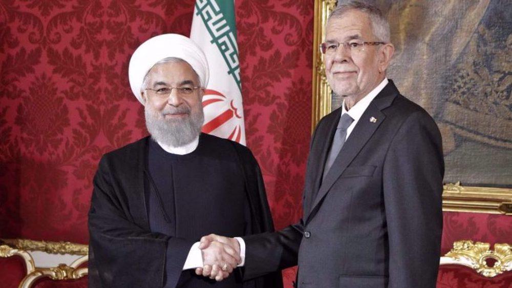 Iran, Austria: US sanctions impeding COVID-19 fight