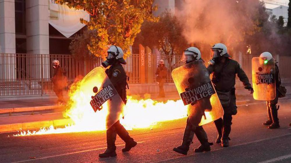 Massive protests rage across Europe against racism in US
