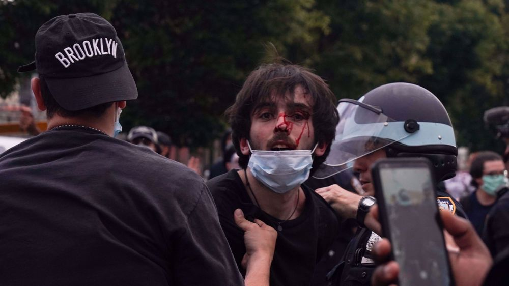 Arrests at widespread US protests hit 10,000