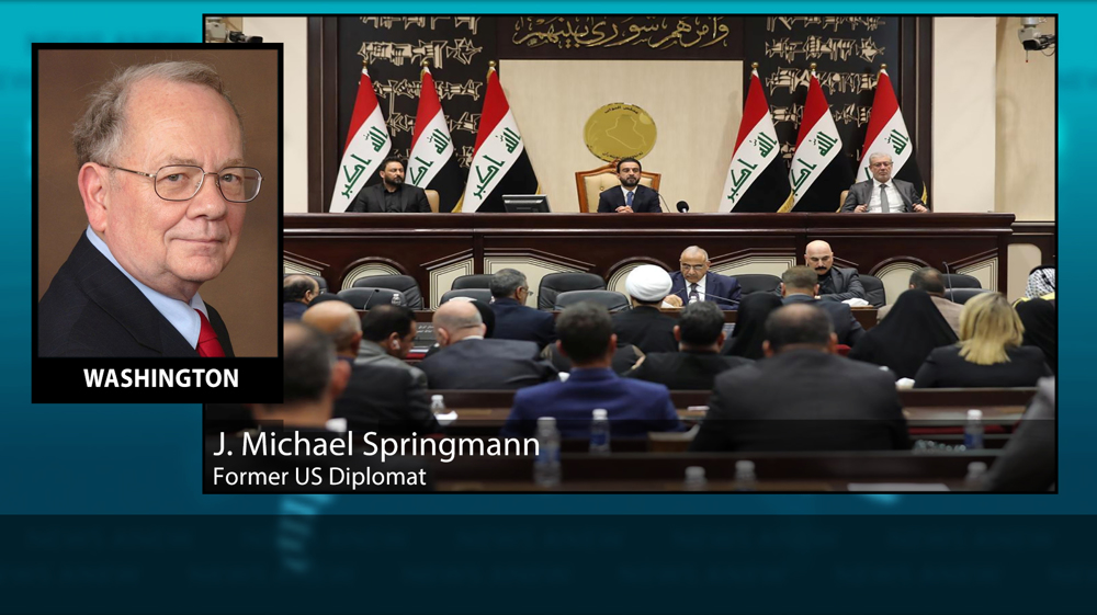 'There is strong demand in Iraq parliament to remove US troops'