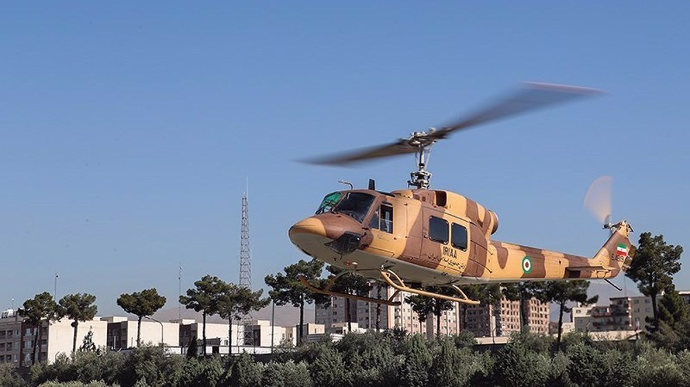 Iran military overhauls 10 helicopters, puts them in service