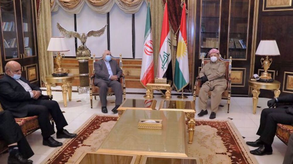 Iraqi Kurdistan no staging ground for anti-Iran attacks: Barzani