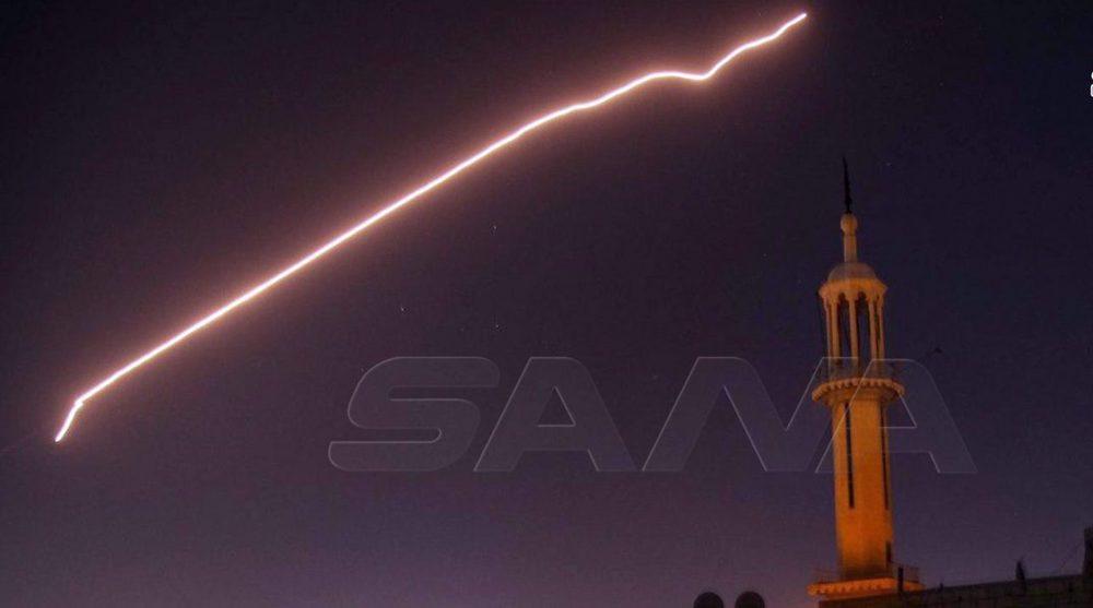 Syria intercepts Israeli aggression on southern Damascus