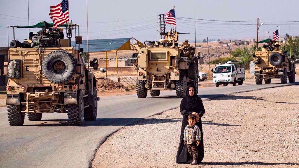 60 US trucks loaded with military equipment enter Syria's Hasakah: SANA