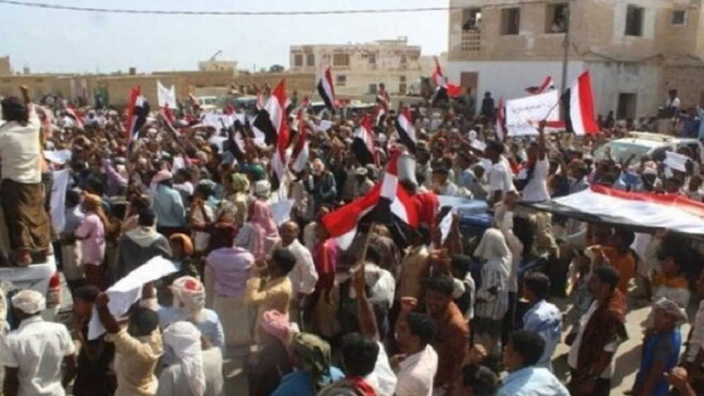Yemeni protesters in occupied Socotra reject Israel-UAE presence