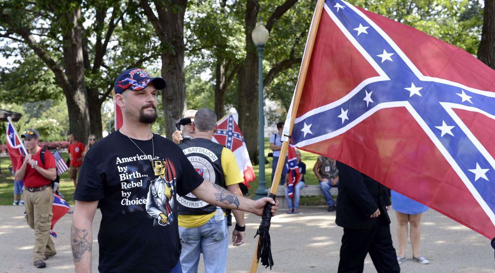 US white supremacy threat