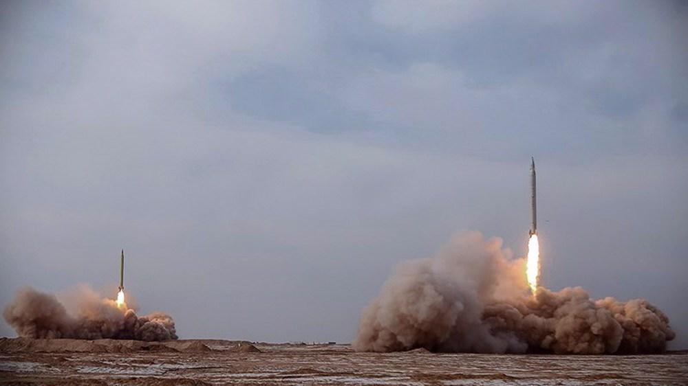IRGC unveils new high tech ballistic missiles, combat drones