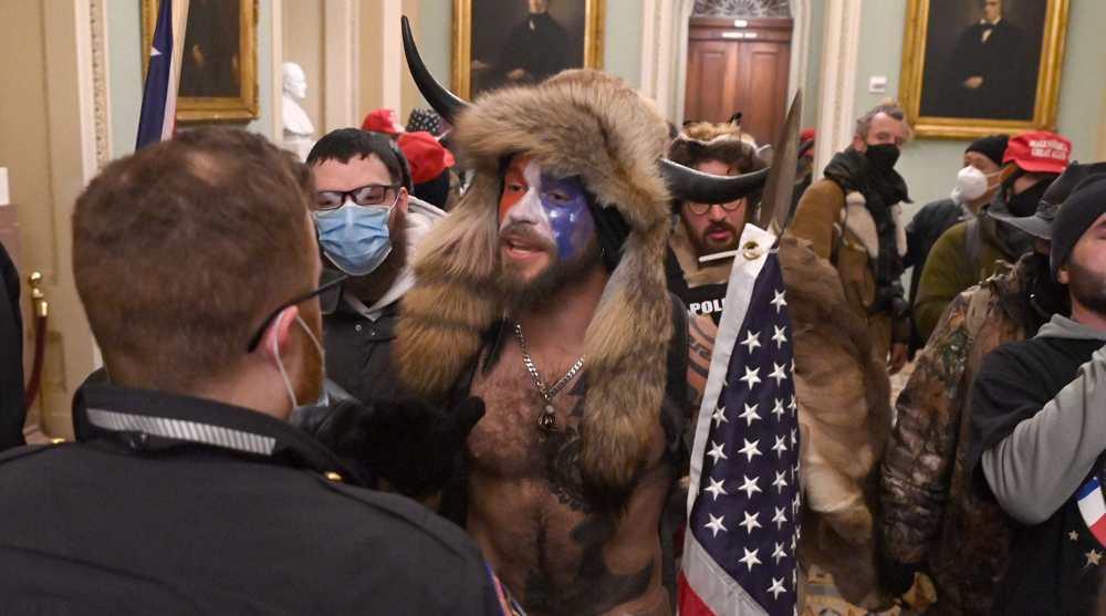 In pictures: Pro-Trump rioters storm US Capitol as Congress certifies Biden's win