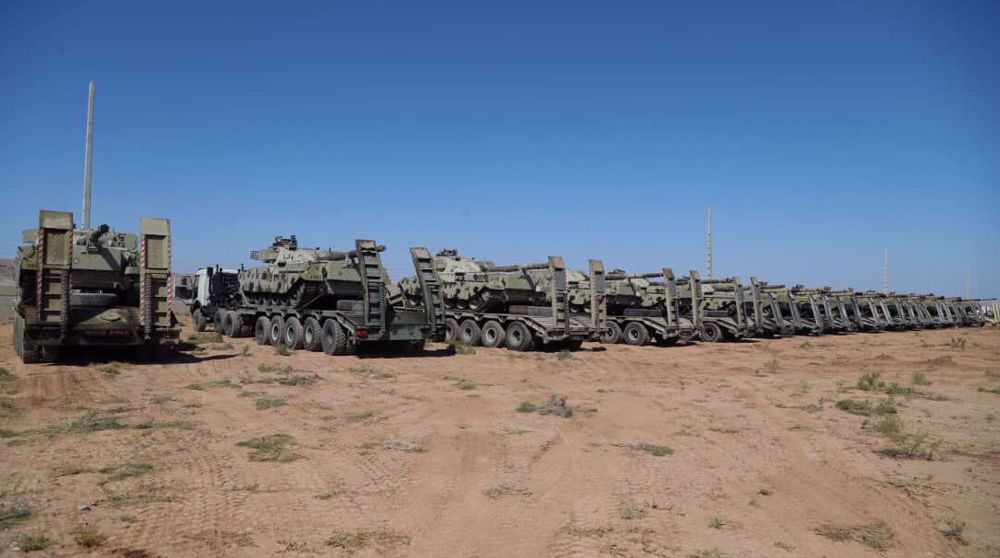 Army Ground Force starts military exercise in northwest Iran