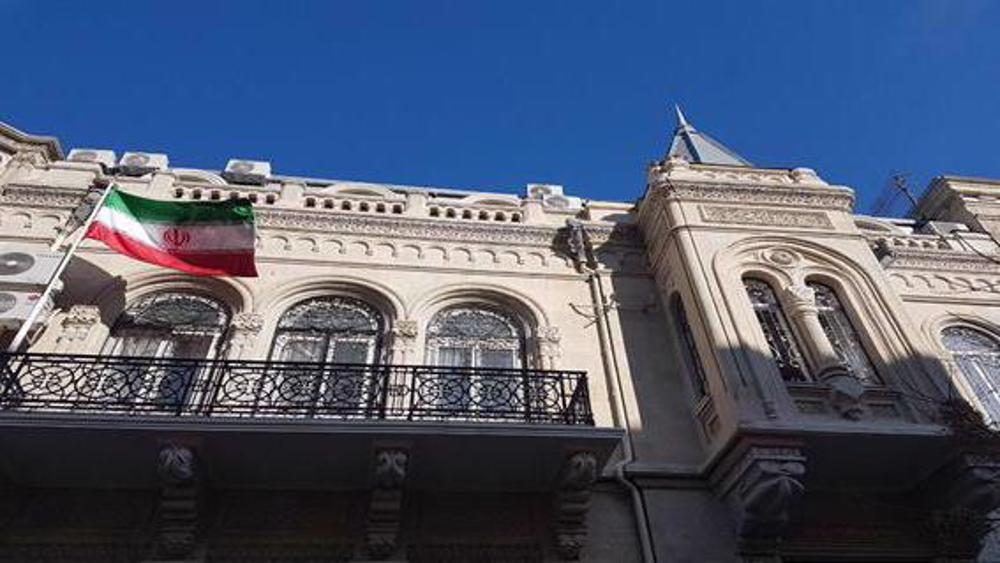 Iran strongly protests attack on embassy in Azerbaijan