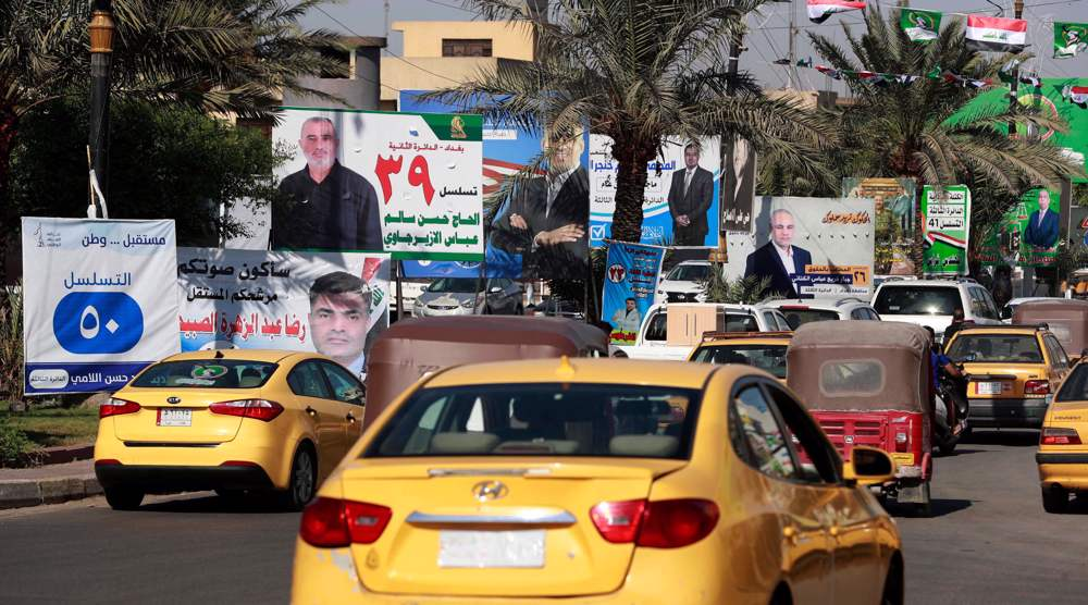 'Defining moment': Iraqis vote in parliamentary elections