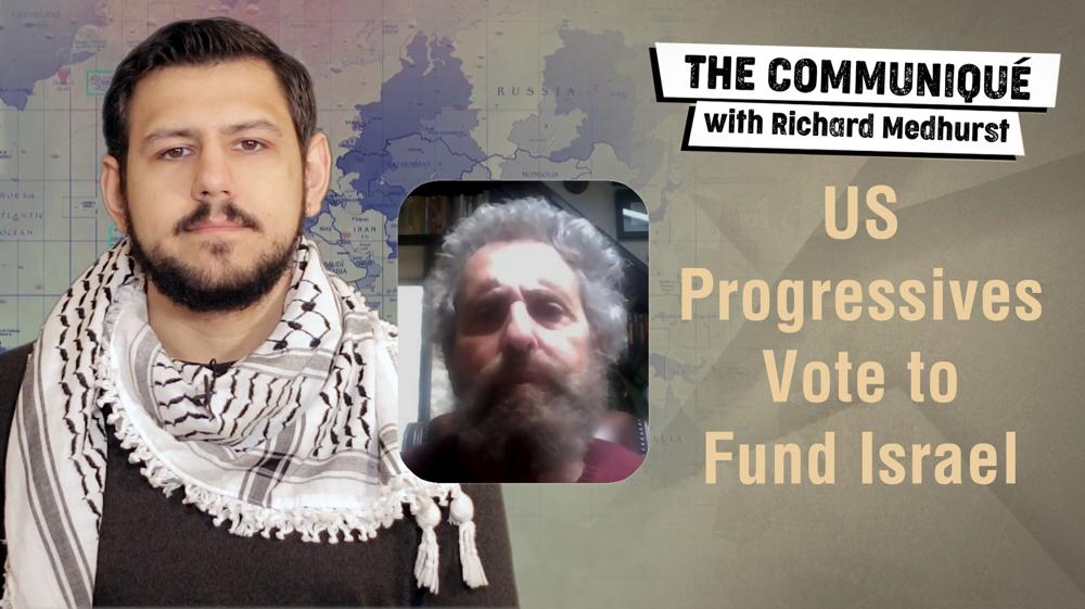 US progressives vote to fund Israel