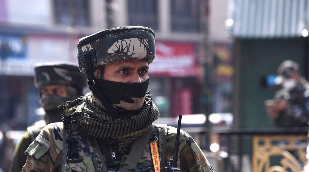 Indian troops kill five suspected militants in Kashmir