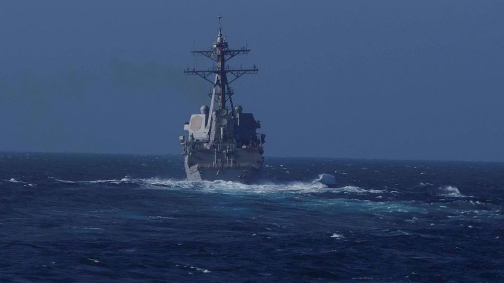 Russia chases away US warship during joint drills with China
