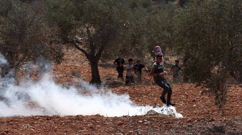 Israeli forces injure dozens of Palestinians in Nablus