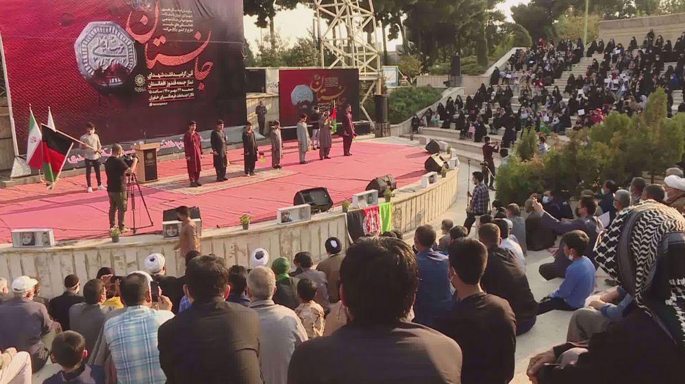 Afghan expatriates in Iran denounce Kandahar, Kunduz terror attacks