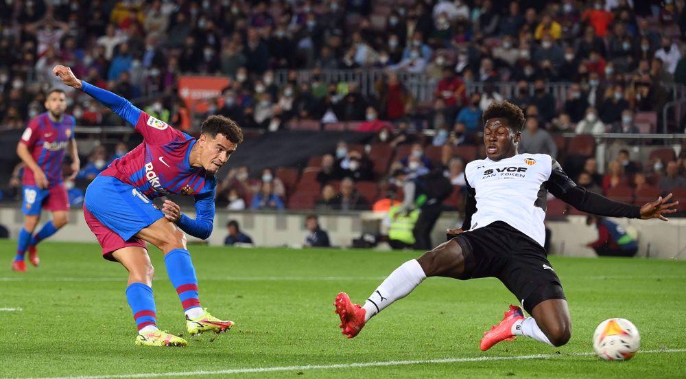 Spanish La Liga: Barcelona 3-1 Valencia