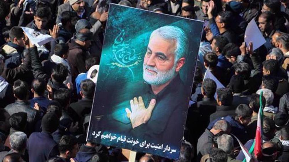 Iran urges 'serious prosecution' of perpetrators behind Gen. Soleimani assassination