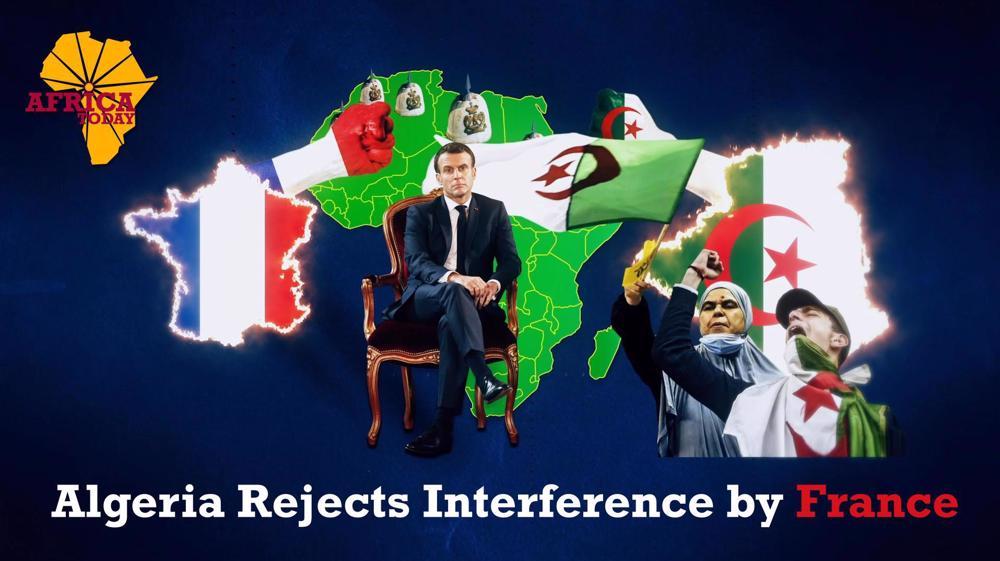 Algeria-France standoff