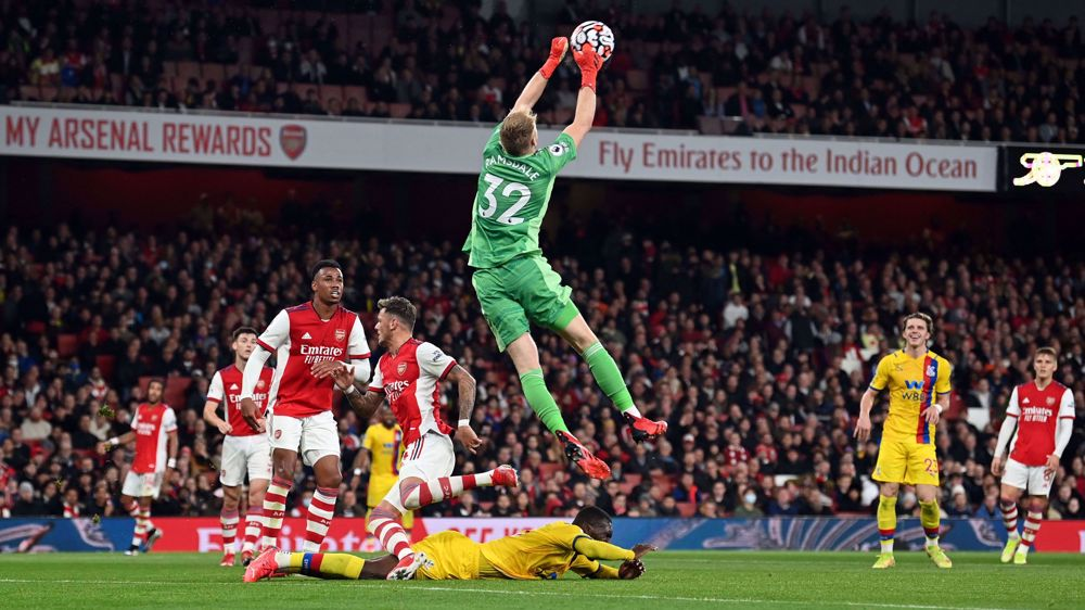 English Premier League: Arsenal 2-2 Crystal Palace