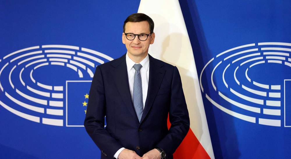 Poland accuses EU of blackmail in dispute over primacy of laws