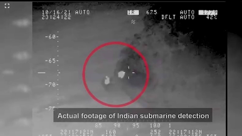 Pakistan's military claims it blocked Indian submarine incursion