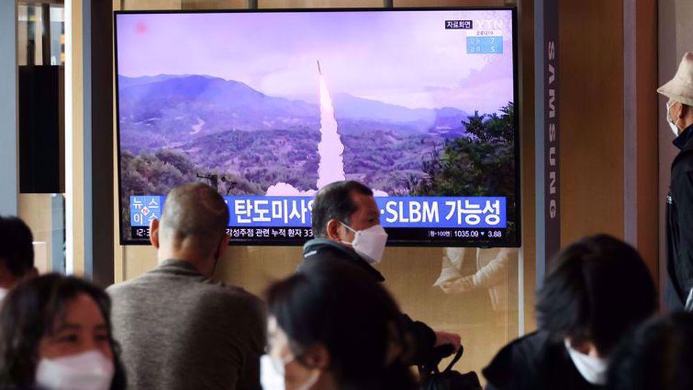 North Korea fires new ballistic missile After US-S Korea talks