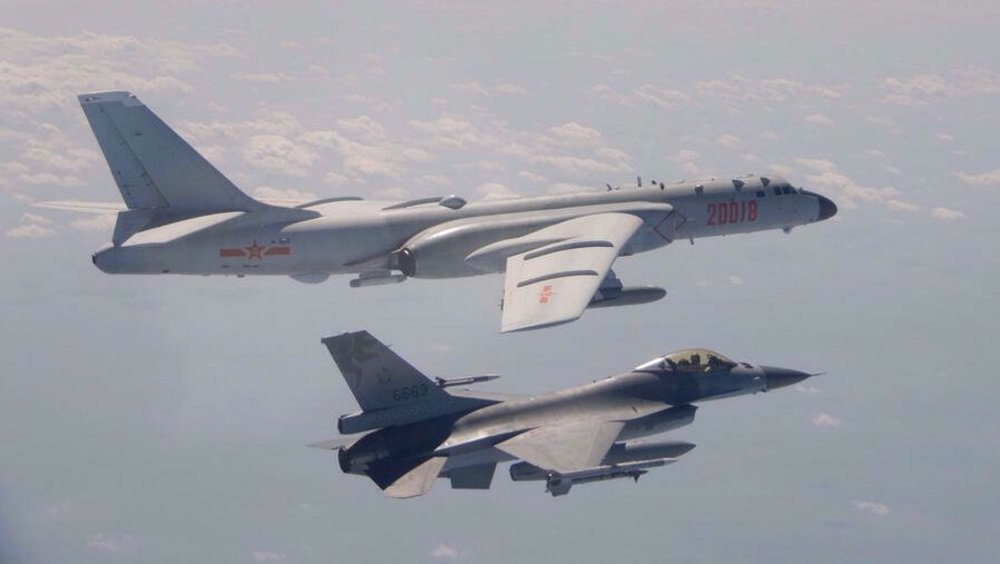 China flies 25 fighter jets after incursion by British warship