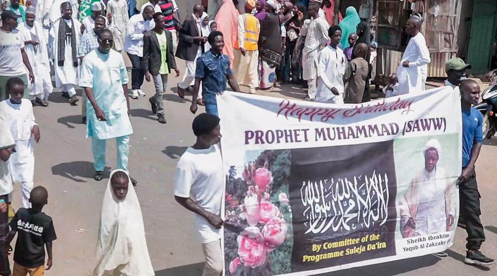 Muslims in Nigeria mark birthday anniversary of Prophet Muhammad