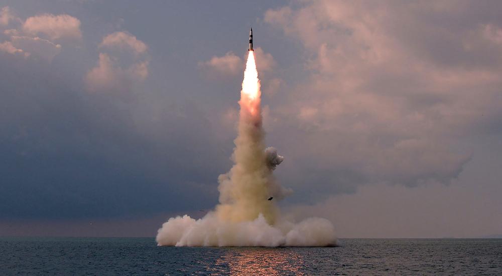 North Korea confirms submarine launch of new ballistic missile
