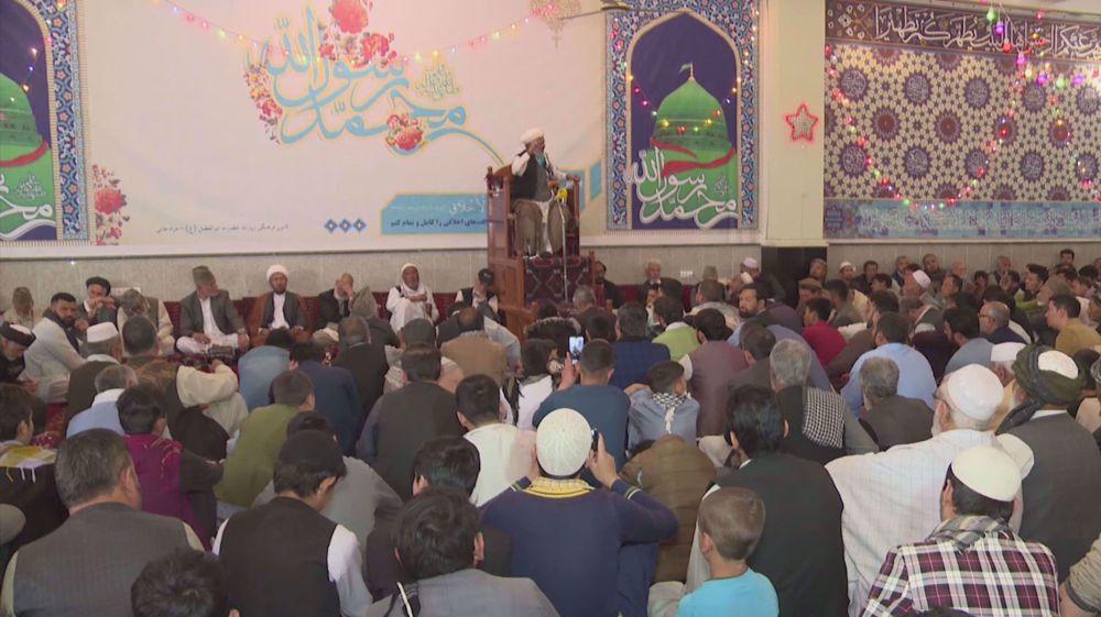 Afghans mark Prophet Muhammad's birth anniversary