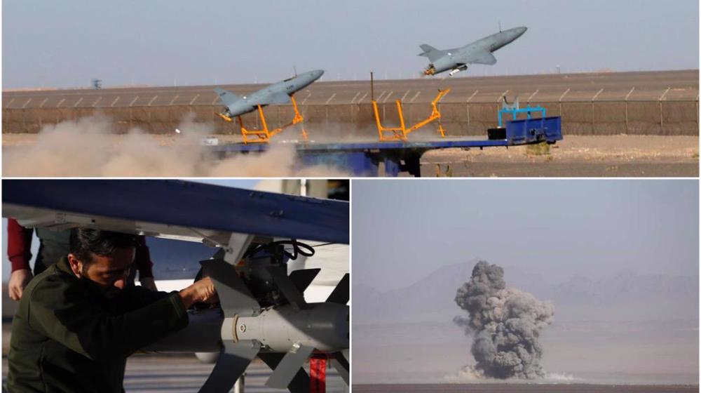 Iran Air Force tests homegrown missile, aircraft in nationwide drills
