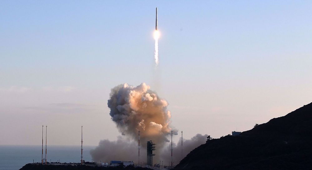South Korea's launch of first space rocket fails