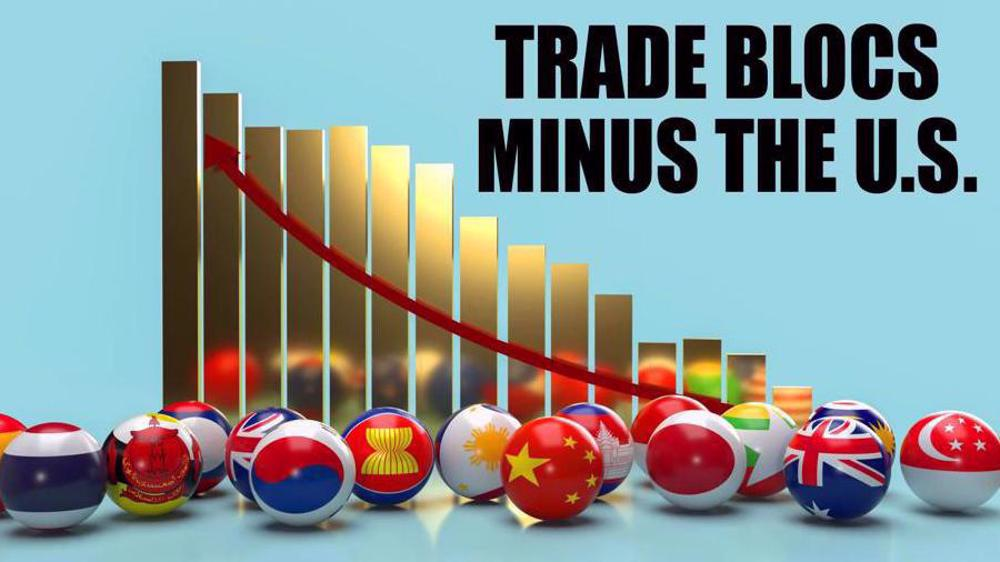 World trade without US