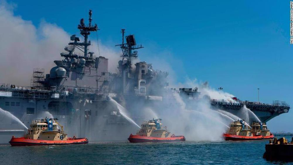 US Navy: 'Systematic failure' led to destruction of warship