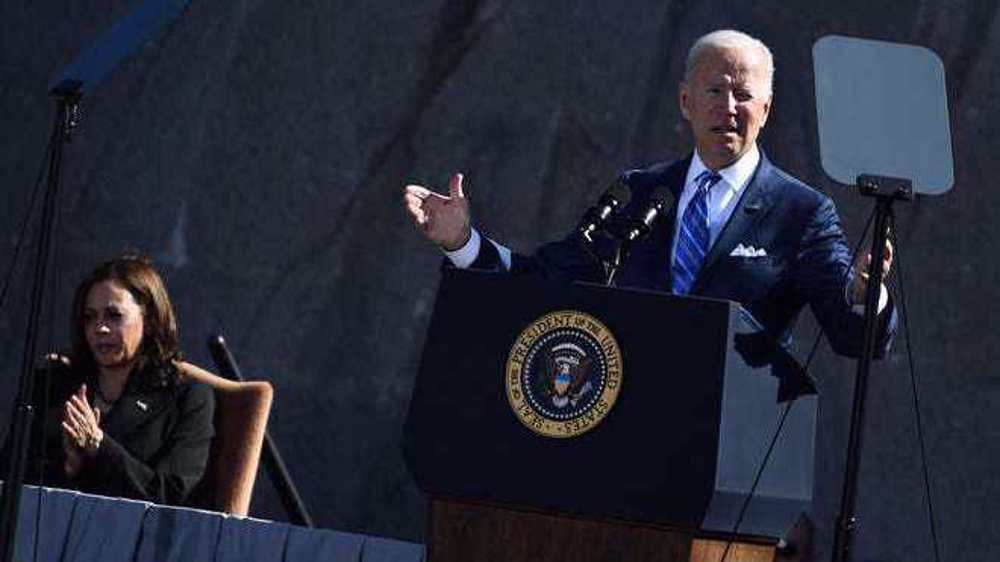Biden says 'white supremacy' drove pro-Trump mob to US Capitol