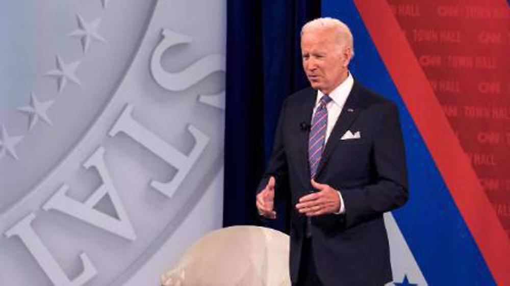 Biden says US would come to Taipei's defense