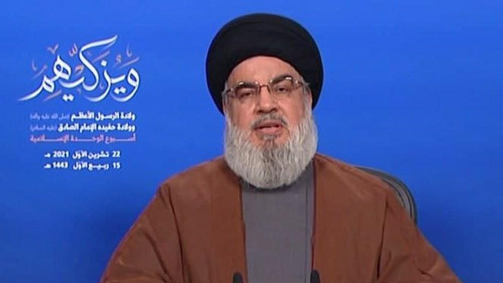 Avertissement de Nasrallah à Israël