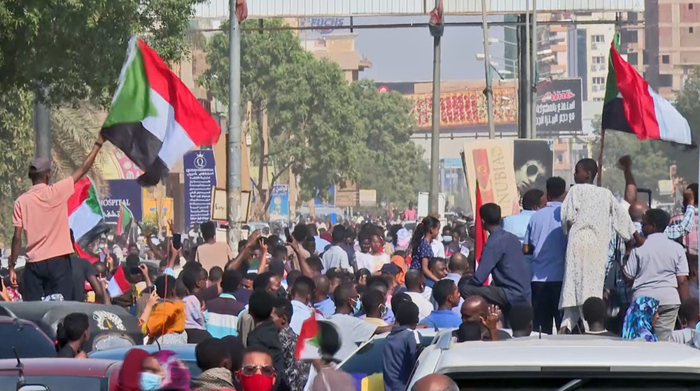 Sudanese hold anti-govt. rally in capital